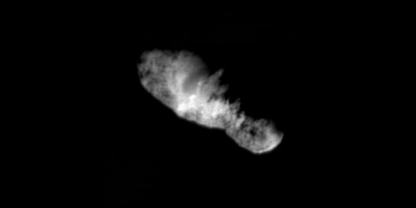 Borrelly Comet Viewed from Deep Space 1