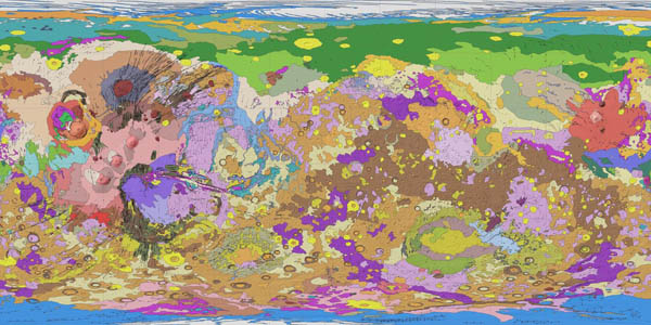 Mars Global Geology Map
