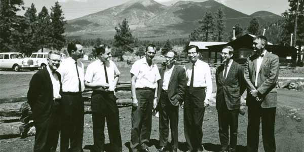 USGS Astrogeology Team Photo 1963