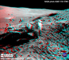 Apollo 16 Anaglyph/3D - John Watts Young at the back of the rover thumbnail