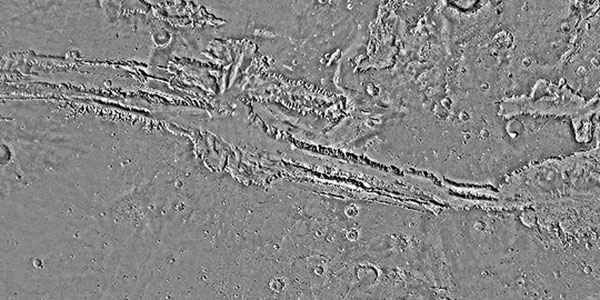 Portion of the Coprates quad which includes Valles Marineris