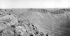 Meteor Crater, Arizona. Limestone block ejected from the crater. Photo taken by G. K. Gilbert, 1891.