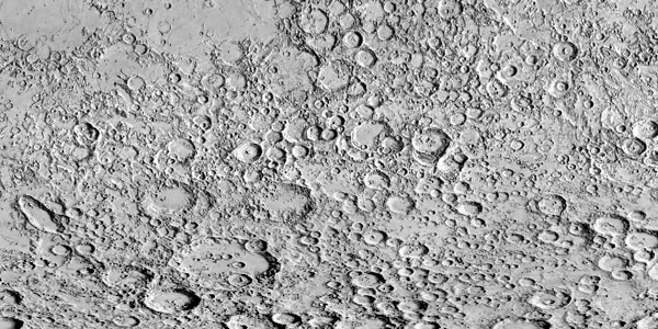 USGS Shaded-relief Map of the Lunar Surface