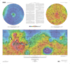 Mars Global Surveyor MOLA Topographic Map thumbnail